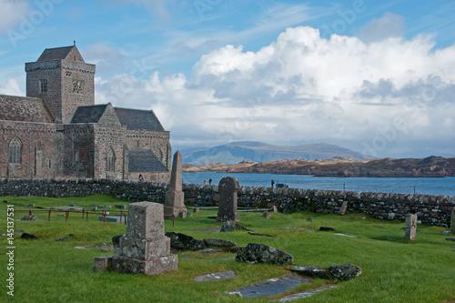 Obraz na płótnie Cloister Iona Abbey