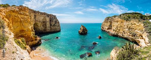 Fotografía Meeresbucht, Praia do Vale Covo, Küste an der Algarve, Atlantik, Portugal