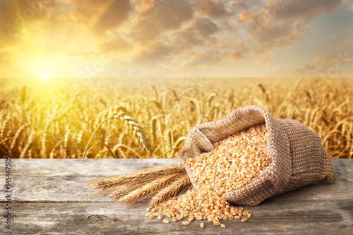 still life bulgur wheat