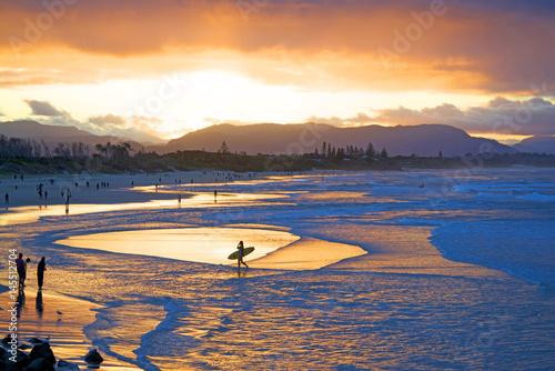 Cuadros en Lienzo Sunset in Byron Bay, Australia