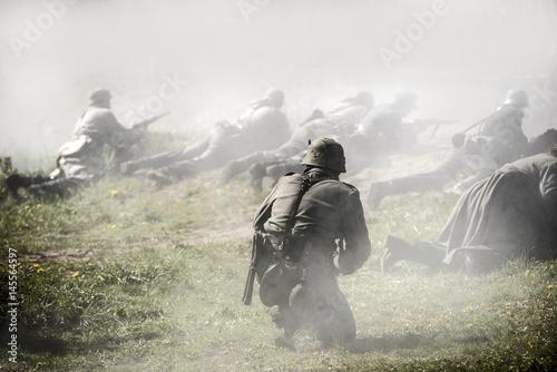 Cuadros en Lienzo German soldiers