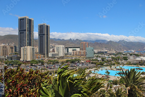 Obraz na plátne Santa Cruz de Tenerife, España