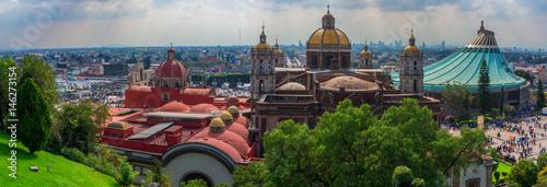 Fotografia Basilica square of Our Lady of Guadalupe in Mexico city