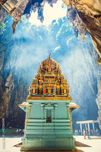 Fotografia, Obraz Hinduism statue of temple at Batu Caves in Kuala Lumpur, Malaysia