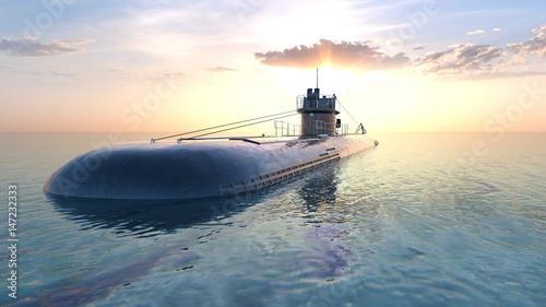 Canvas Print 潜水艦
