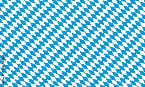 Fotografiet bavaria flag flat illustration