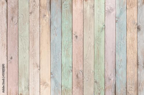 pastelowe kolorowe deski drewniane tekstury lub tła