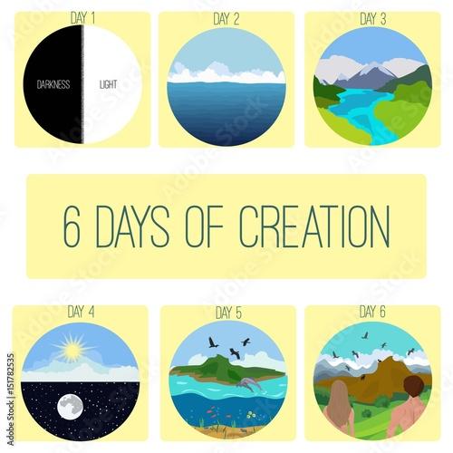 Fotografiet Six days of Creation