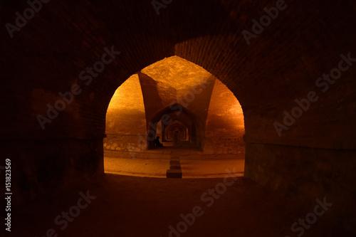 old stylish underground tunnel