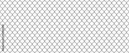 Fotografie, Obraz Chainlink fence