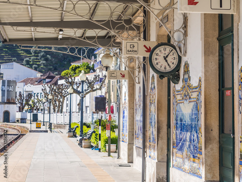 Train station in Pinhao, Portugal
