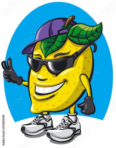 lemon character cartoon