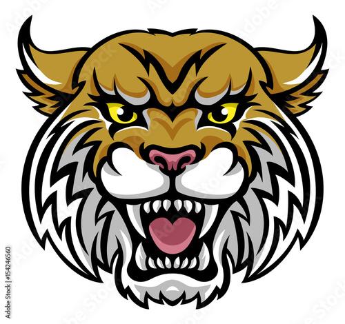 Fototapeta premium Maskotka Wildcat Bobcat