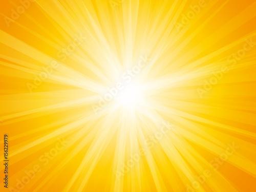 Obraz na płótnie sun rays background