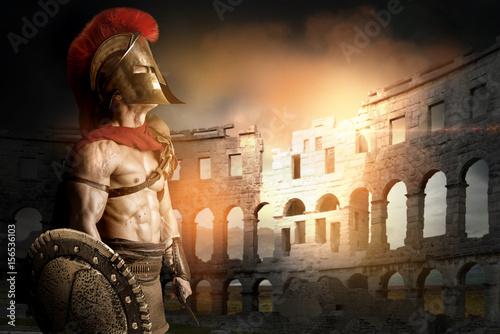 Ancient soldier or Gladiator Fototapeta