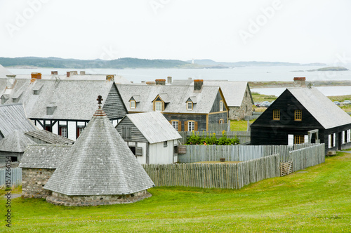 Canvas Fort Louisbourg - Nova Scotia - Canada