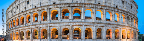 Cuadros en Lienzo Kolosseum in Rom Panorama