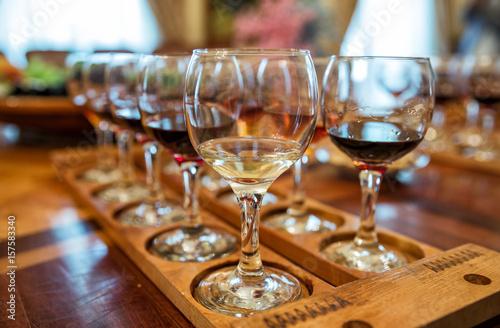 Wine tasting Fototapeta