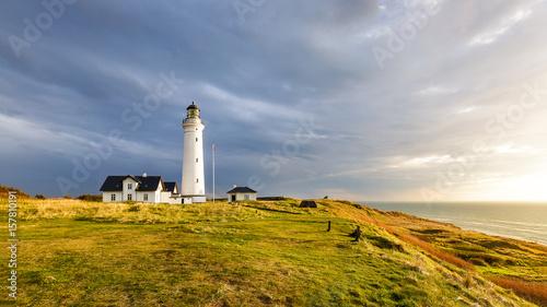 Canvas Print Hirtshals Lighthouse