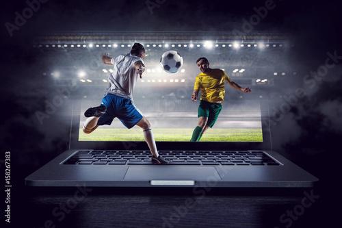 Football hottest moments Fototapeta