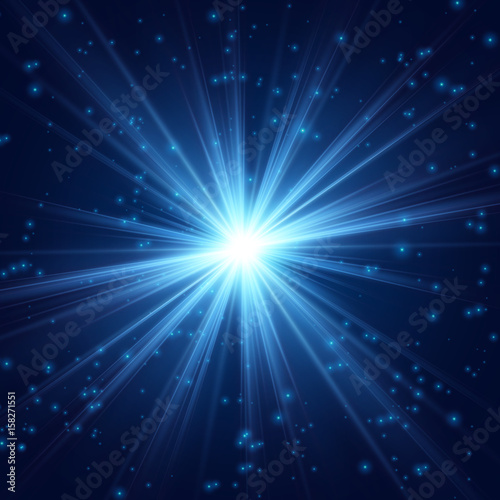 Cosmic radiance fine light