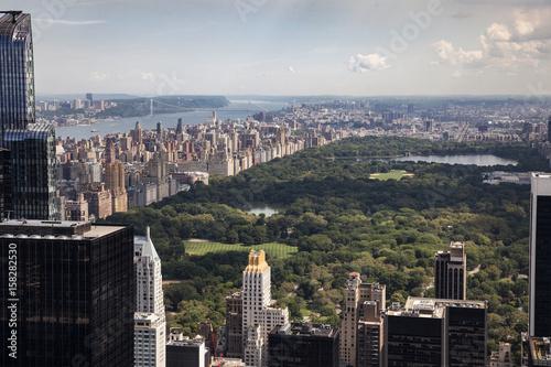 New York vue sur Central Park Fototapete