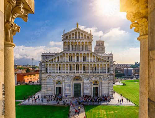Fotografia Pisa Cathedral (Duomo di Pisa) on Piazza dei Miracoli in Pisa, Tuscany, Italy