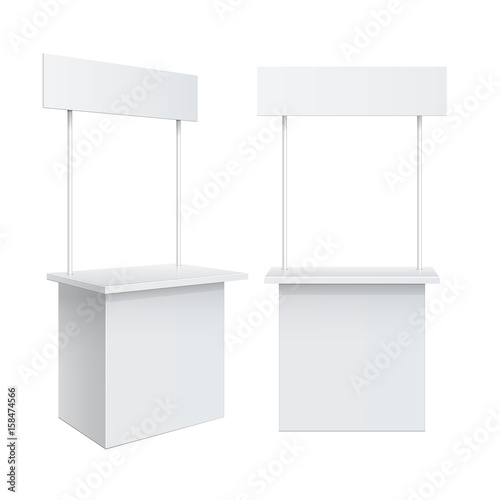Fotografie, Obraz Promotion counter, Retail Trade Stand