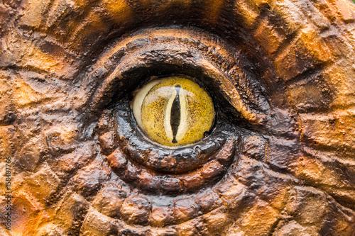 Fototapeta premium Oczy łowców dinozaurów.