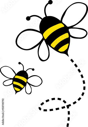 Fototapeta honey bee
