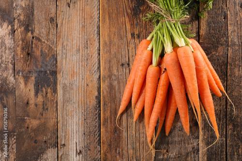 Obraz na plátne fresh carrot
