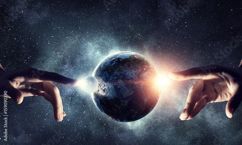 Fotografia Idea of Earth creation