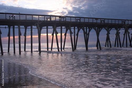 Morning Light through the pier