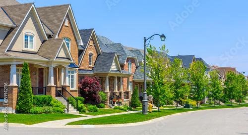 Obraz na płótnie Luxury houses in North America