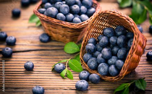 Fotografia, Obraz Blueberries in the basket