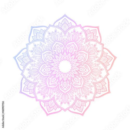 Αφίσα Hand drawn abstract mandala design