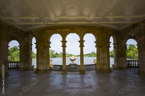 Canvas Print Hever Lake from the Loggia