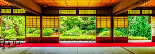 Fototapeta premium Obraz w japońskim stylu z Kioto
