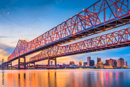 Fototapeta New Orleans, Louisiana, USA