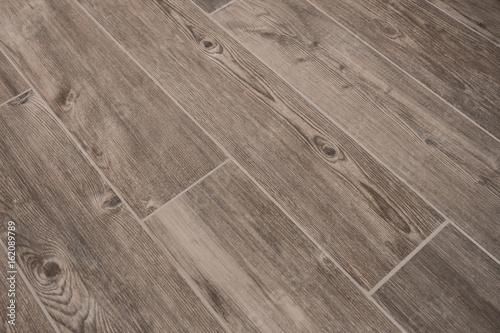 wood texture tiled floor - wooden stoneware Fotobehang