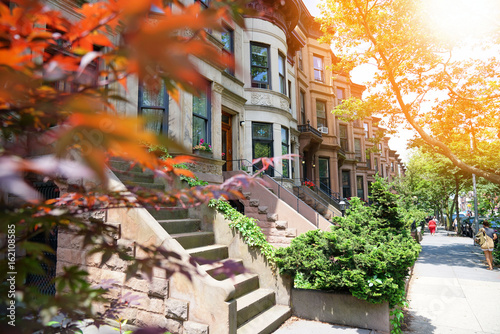 Photo Brooklyn brown houses