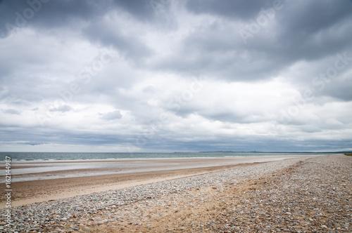 Fotografie, Tablou Findhorn beach, Burghead Bay on the Moray Firth, Scotland.