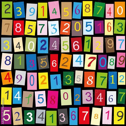 Kolorowe liczby