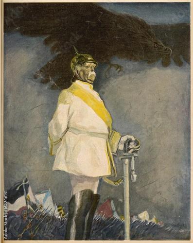Tableau sur Toile Otto von Bismarck  1915.