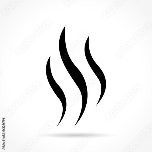 steam icon on white background