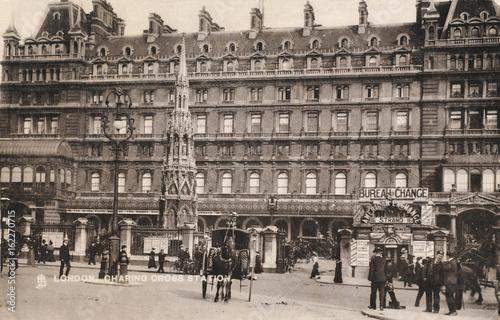 Платно Charing Cross Station 1907. Date: 1907