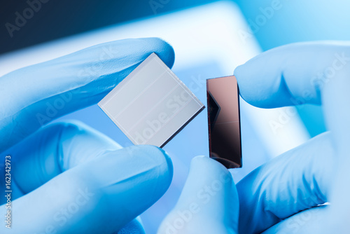 Research of new type of solar panel cell concept