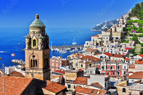 Photo Amalfi in the province of Salerno, Campania, Italy