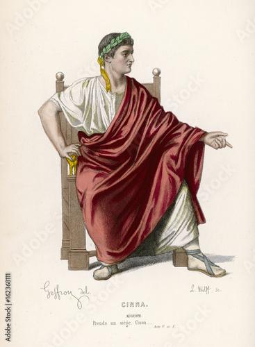 Starożytny rzymski kostium. Data: około 1 Fototapeta