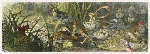 Canvas Print Folklore - Fairies - Doyle